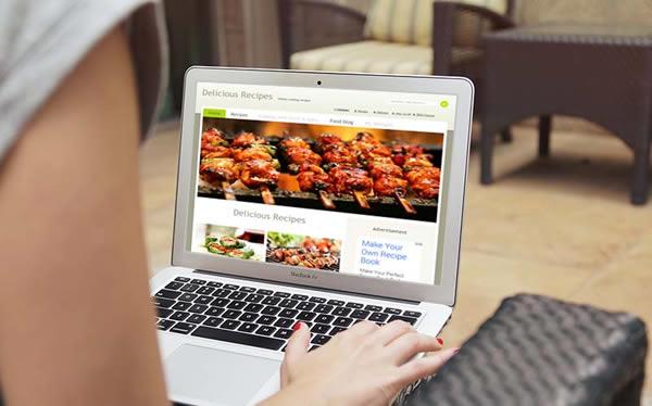 delicious recipes website